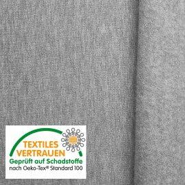 Oeko-Tex® Sweat – cinza claro